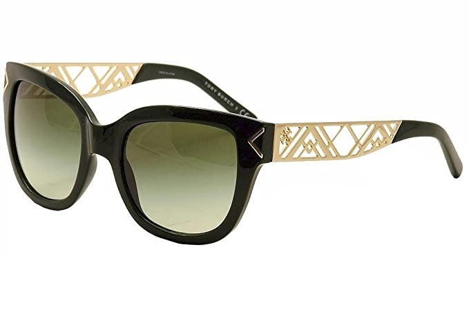 66a3bbd2b56c Image Unavailable. Image not available for. Colour: Tory Burch Sunglasses  TY9034 13713F Emerald Green Gradient 53 ...
