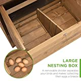 Best Choice Products 70in Mobile Fir Wood Chicken