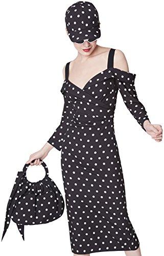 Schwarz Etxart Damen Kleid 105 Negro amp; Panno rWBBqgxIC