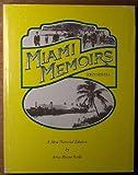 Miami Memoirs - John Sewell, John Sewell, 0914381075