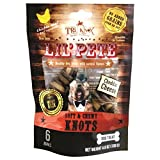 TruKnox Lil' PETE Knots Soft & Chewy NO Rawhide Grain Free, Corn Free, Soy Free – Natural and Healthy Dog Treat with Cheddar Cheese – 6 Bones 4.6 oz | Human-Grade Chicken is # 1 Ingredient Review