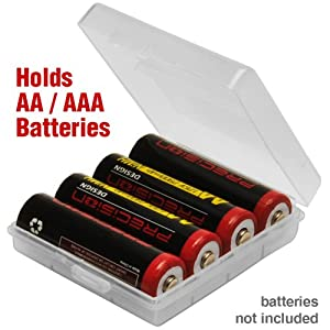 Amazon.com: Precision Design AA / AAA Battery Case - Holds