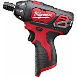 12 Volts, Lithium-Ion Battery, Pistol Grip Cordless Screwdriver