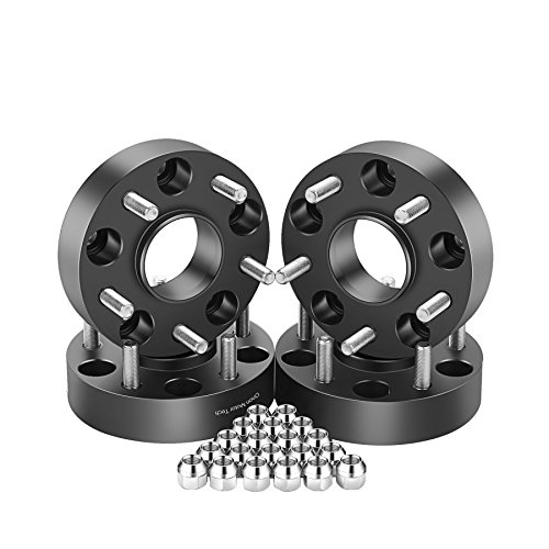 (OrionMotorTech 5x5 Wheel Spacers 1.5 inches with 1/2-20 Studs for 007-2018 Jeep Wrangler JK, 1999-2010 Grand Cherokee WJ WK, 2006-2010 Commander XK, 4pcs)