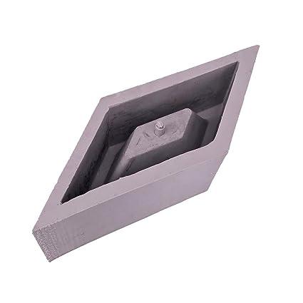 Molde de Silicona para Maceta DIY Molde de Florero de Cemento Cerámico Molde de Silicona Plantas