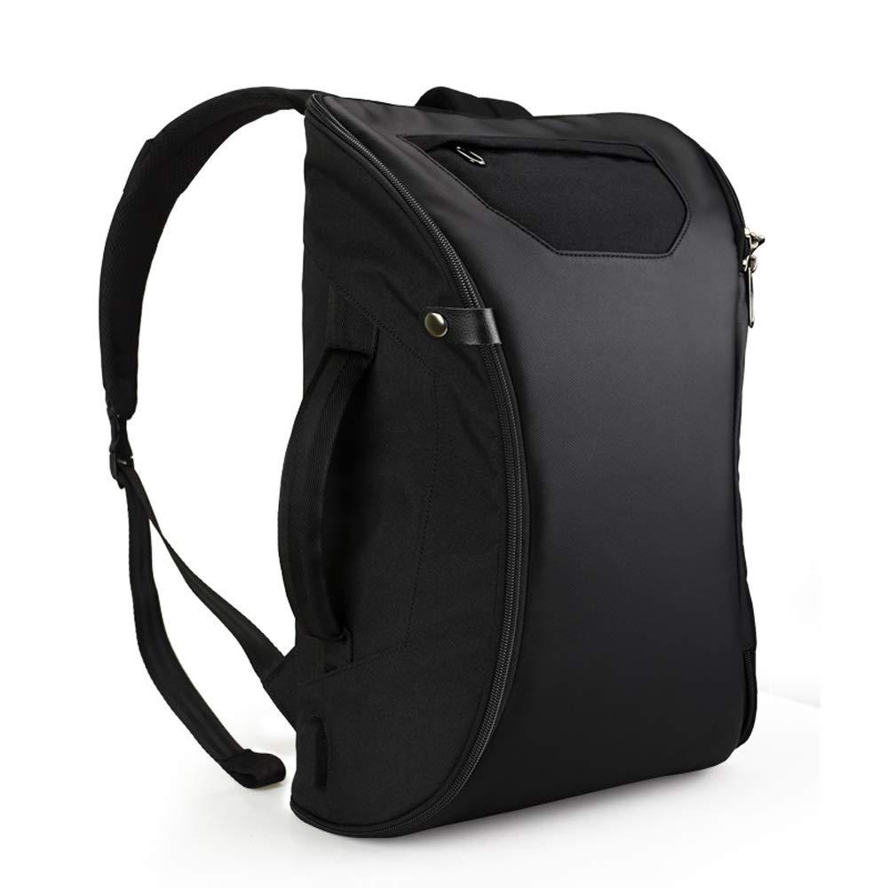 Znesd Fashion Business Travel Fingerprint Backpack,Built-in Fingerprint Lock,USB Port,Multi Layers,Large Capacity,muiti-Functions Design by Znesd