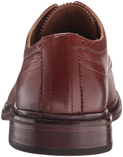 Mens Cole Williams Mens Welt Cap Ii Oxford Woodbury Handstain Leather