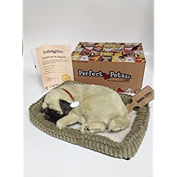 perfect petzzz pug amazon com perfect petzzz xp91 09 huggable pug puppy 9563