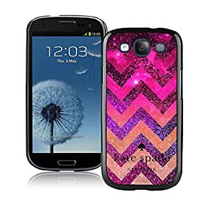 Personalized Popular Design Samsung S3 Case Kate Spade New York Phone Case For Samsung Galaxy S3 I9300 Plastic Cover Case 91 Black