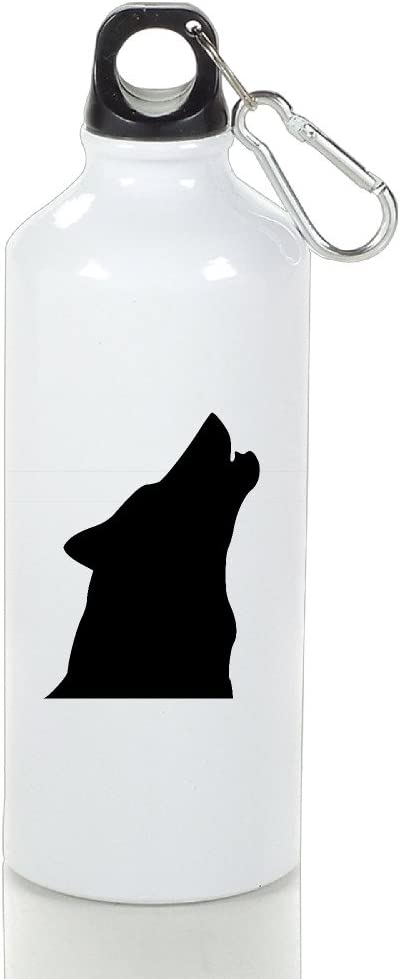 Roman lobo aullando Premium de aluminio Thermos taza ...