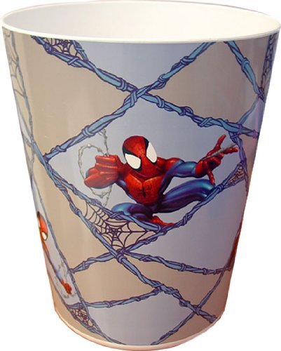UPC 032281088484, Spiderman Plastic Wastebasket