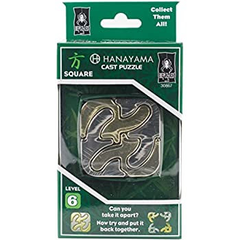 how to solve hanayama cast metal brain teaser puzzle