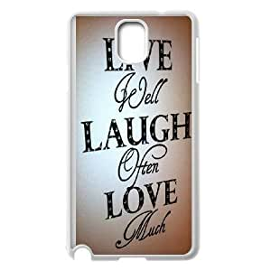 SamSung Galaxy Note3 cell phone cases White Live Laugh Love fashion phone cases TGH890252