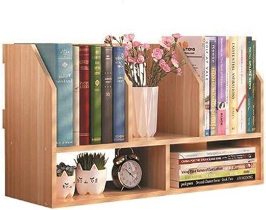 Amazon Com Yqq Shelf Wooden Bookcase Small Desktop