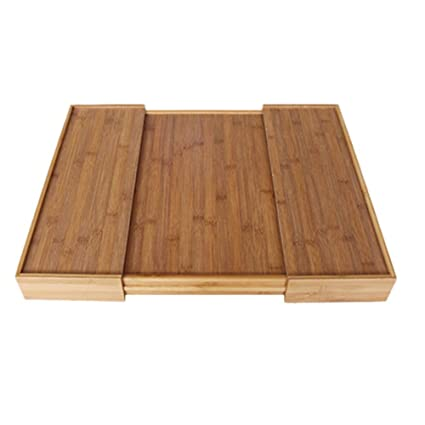 332 Page ANN Organizador schublade Caja Madera Cocina Organizador de Cubiertos para cajón, 5 Compartimentos, de bambú, Extensible: Amazon.es: Hogar