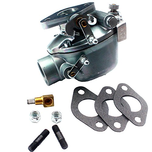 KIPA Carburetor for Ford Jubilee NAA Nab Tractor EAE9510C B2NN9510A Marvel Schebler TSX428 Zenith 0-13880 13880 All States Ag 155439 Carburetor Carb with Mounting Gaskets