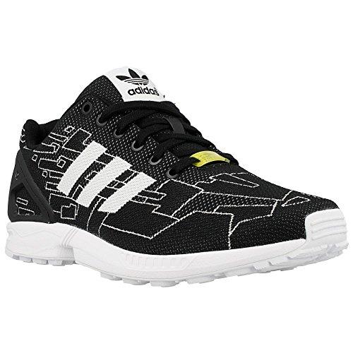 Adidas - ZX Flux Weave - Color: Black-White - Size: 6.5
