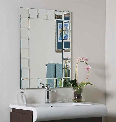 Montreal Modern Wall Mirror Mirror 31.5 H x 23.6 W x 0.5 D
