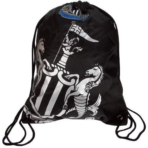 Newcastle United Foil Print Gym Bag by Newcastle United F.C.