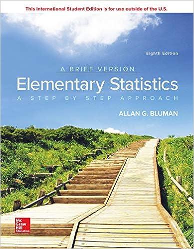 Elementary Statistics: A Brief Version by Bluman