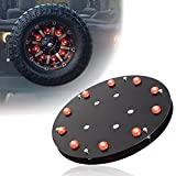 Spare Tire Brake Lights 3rd Tail Light LED for Jeep Wrangler JK JKU TJ LJ YJ CJ Unlimited Rubicon Sahara X Sport 2 door or 4 door 1987-2017