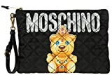 Moschino women's clutch handbag bag purse newblack