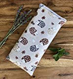 Microwave Heating Pad Bag Lavender Hedgehog Gift