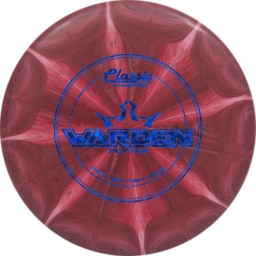 Frisbee Classic (Dynamic Discs Classic Blend Burst Warden Putter Golf Disc [Colors may vary] - 173-176g)