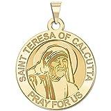 Saint Teresa of Calcutta Religious Medal in Laser
