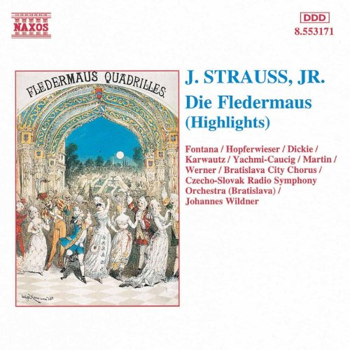 Strauss II, J.: Fledermaus (Die) (Highlights)