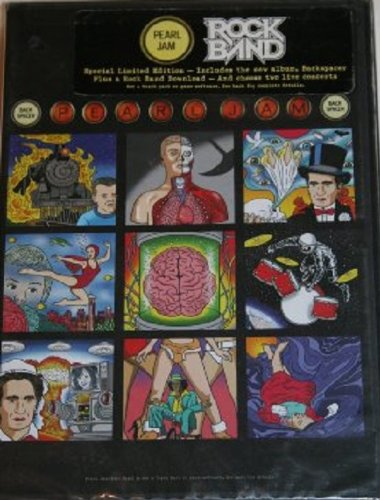Backspacer (Special Limited Edition Rock Band Version) [Audio CD] by Pearl Jam
