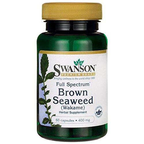 Swanson Spectrum Brown Seaweed Wakame