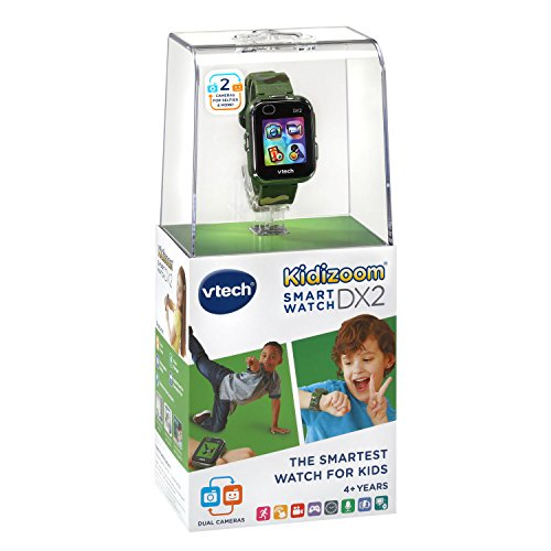 VTech Kidizoom Smartwatch DX2, Camouflage (Amazon Exclusive) by VTech (Image #6)