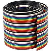 DealMux fita IDC Cabo Fio Rainbow Flat Cable