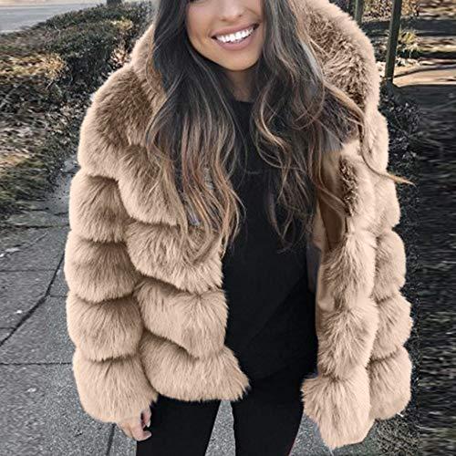 femmes pour automne vison pour Veste de hiver Bazhahei femmes manteaux d'hiver 5nqxnw8zOR