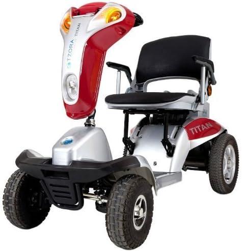 Tzora Titan 4 Hummer XL Folding 4-Wheel Electric Mobility Scooter