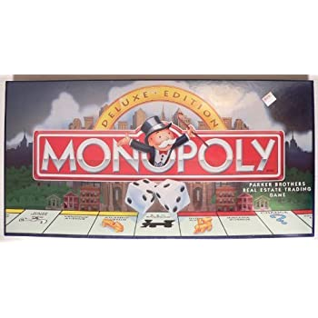 Amazon Com Monopoly Deluxe Edition Rare Long Box Version