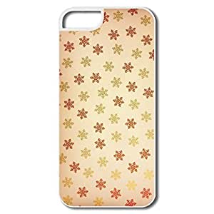 Brand New Snowflakes Pattern Case For IPhone 5/5S iphone case lifeproof iphone