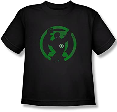 Dc - Youth Gl Symbol Knockout T-Shirt, Small, Black