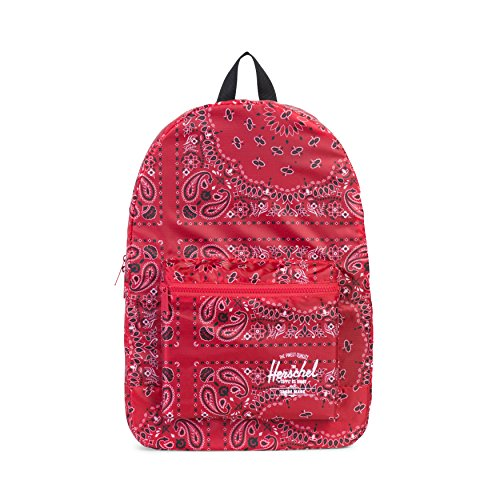 Herschel Supply Co. Packable Daypack Backpack, Red Bandana