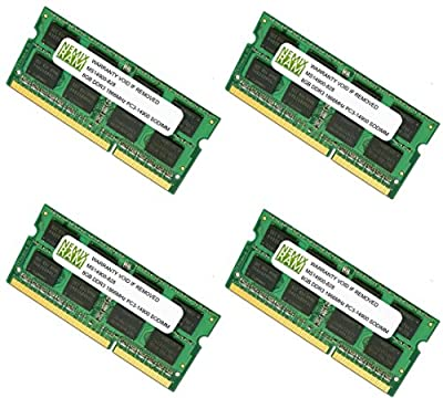 "32GB (4 X 8GB) DDR3-1866MHz PC3-14900 SODIMM for Apple iMac 27"" Late 2015 Intel Core i5 Quad-Core 3.2GHz MK472LL/A CTO (iMac17,1 Retina 5K Display)"