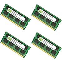 32GB (4 X 8GB) DDR3-1866MHz PC3-14900 SODIMM for Apple iMac 27 Late 2015 Intel Core i5 Quad-Core 3.3GHz MK482LL/A CTO (iMac17,1 Retina 5K Display)