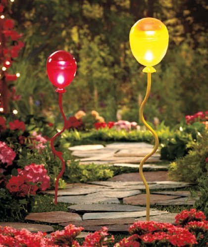Solar Lighted Balloon Stakes