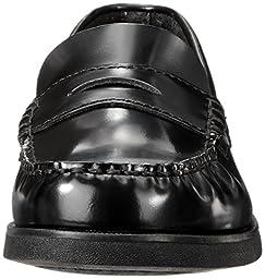 Sperry Colton Penny Loafer (Toddler/Little Kid/Big Kid),Black Leather,6 M US Big Kid