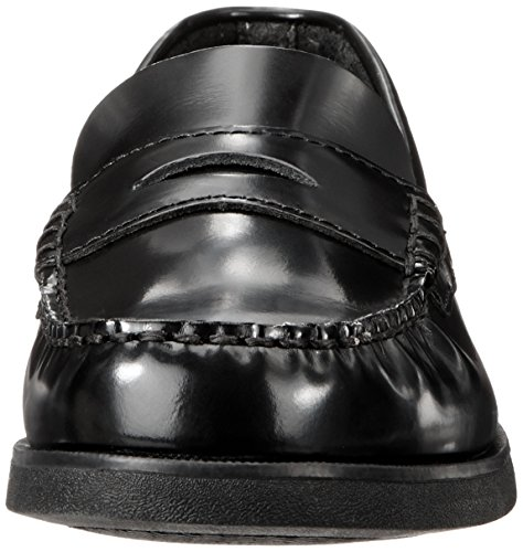 Sperry Colton Penny Loafer (Toddler/Little Kid/Big Kid),Black Leather,7 N US Toddler