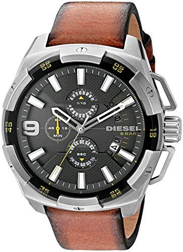 diesel-mens-dz4393-heavyweight-stainless-steel-brown-leather-watch