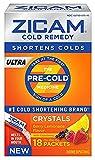 Zicam Ultra Cold Remedy Berry Lemonade Crystals, 18 Count