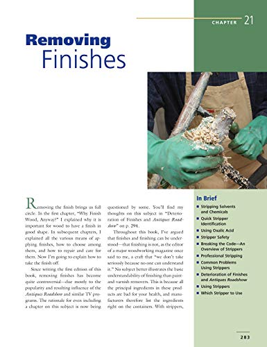 Understanding Wood Finishing: How to Select and Apply the Right Finish (Fox Chapel Publishing) Practical & Comprehensive with 300+ Color Photos and 40+ Reference Tables & Troubleshooting Guides by Design Originals (Image #7)