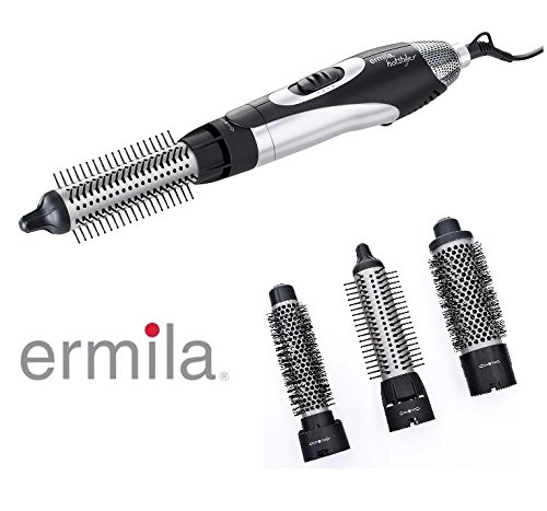 Professionnel Hairstyler/Brosse ronde, incl. 3de brosses rondes thermiques, 1100W forte. 44099 Best-Cut