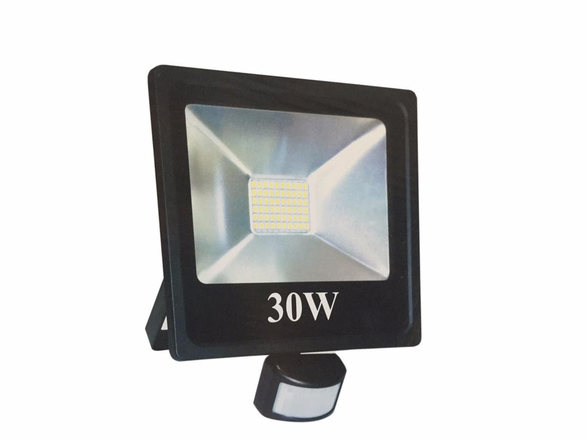 silamp Proyector LED Faro detector de movimiento crepuscular 30 W ...